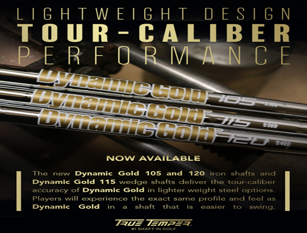 True Temper Dynamic Gold 105 and 115 Wedge Shafts