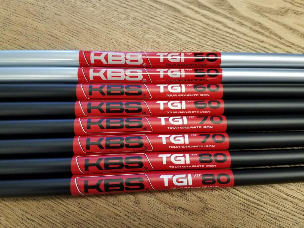 KBS TGI Shafts in JPX-900 Forged Irons Working Great!